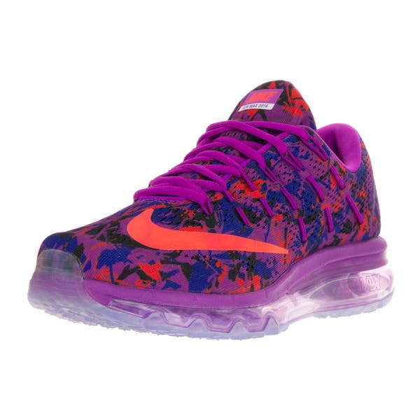 ef0713c588961 Shop Nike Women's Air Max 2016 Multicolor Print Textile Running Shoe ...