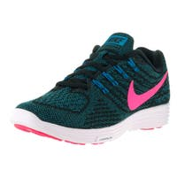 Nike Women's Lunartempo 2 Blue, Black, and Pink Running Shoe