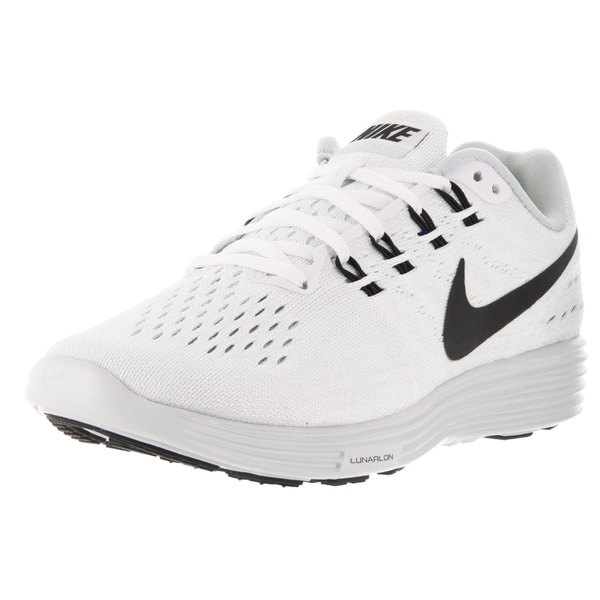 ff442767e204a Shop Nike Women's Lunartempo 2 White, Black, and Pure Platinum Synthetic  Running Shoes - Free Shipping Today - Overstock - 13313208