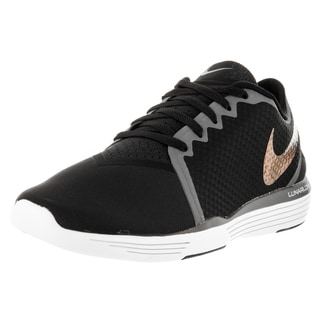 Nike Women's Lunar Sculpt Black and Dark Grey Synthetic Training Shoes