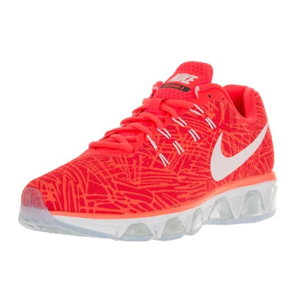 Shop Nike Women's Air Max Tailwind 8 Print Bright Crimson/White Hyper Orange Running Shoes