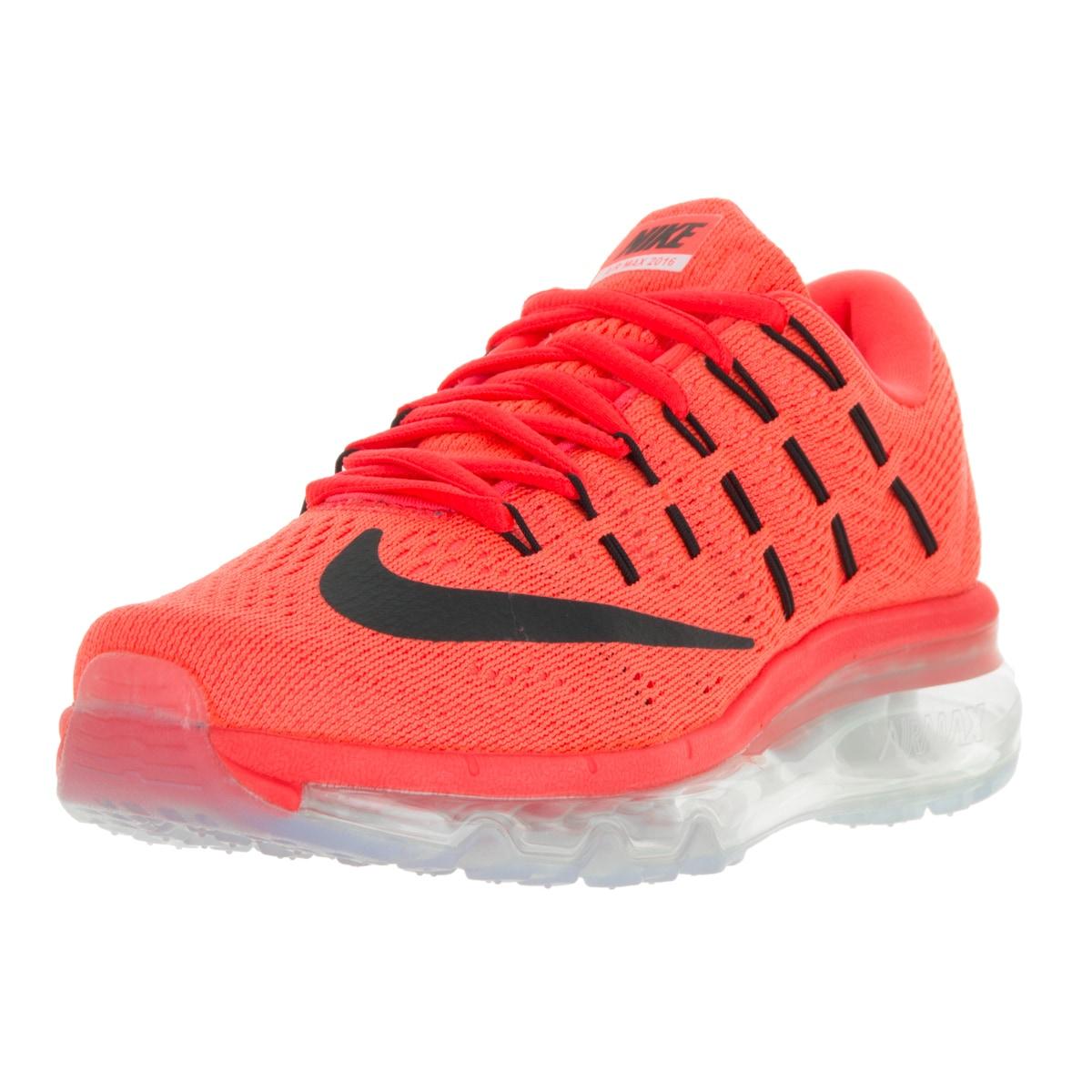 Nike Women's Air Max 2016 Bright Crimson/Black University...