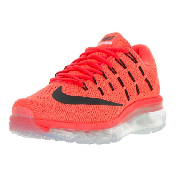 fc9f27f6f4a8 Nike Women's Air Max 2016 Bright Crimson/Black University Red Running Shoe