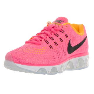 Nike Women's Air Max Tailwind 8 Pink, Black, and Orange Plastic Running Shoes