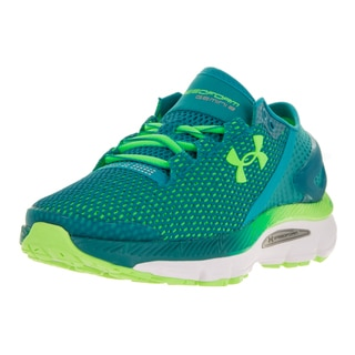 Under Armour Women's UA W Speedform Gemini 2.1 Green Running Shoe