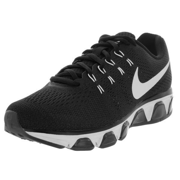 premium selection 1e01a 9d342 Nike Women  x27 s Air Max Tailwind 8 Black and White Synthetic Running Shoes