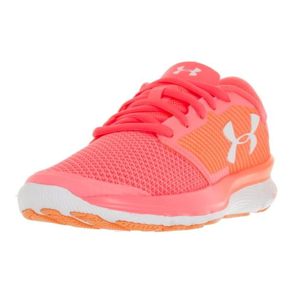6819a719 Shop Under Armour Women's UA W Charged Reckless Orange Plastic ...