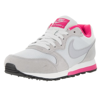 Nike Women's MD Runner 2 Grey and Pink Running Shoe