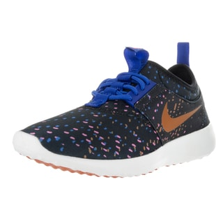 Nike Women's Juvenate Print Black/Sunset/Gm Royal/Dgtl Pnk Casual Shoe