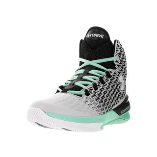 Under Armour Women's Clutchfit Drive 3 Alu, Cys, and Wht Basketball Shoe
