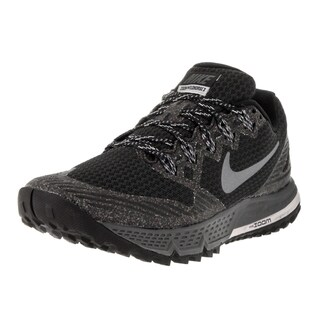 Nike Women's Air Zoom Wildhorse 3 Wlf Gry Cl Gry Black/Dark Grey Running Shoe