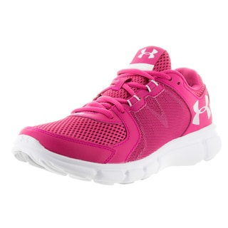 Under Armour Women's UA Thrill Pink Plastic Running Shoes