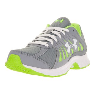 Under Armour Women's UA W Dash Run Grey and Green Running Shoe