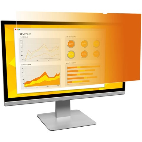 """3M Gold Privacy Filter for 21.5"""" Widescreen Monitor"""