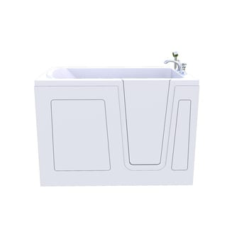Lincoln HealthSmart Walkin Walk in Tub Freedom Safety Independent Bath Tub Soaker