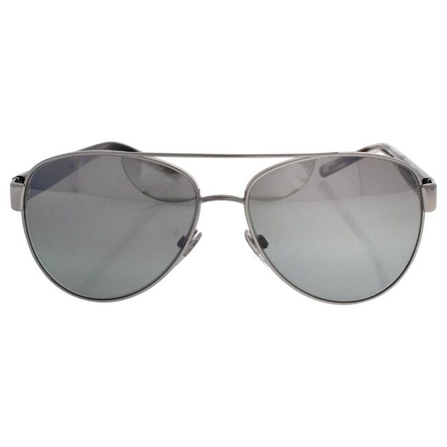 Burberrys Women BE3084 10056V Silver Plastic Cateye Sungl...