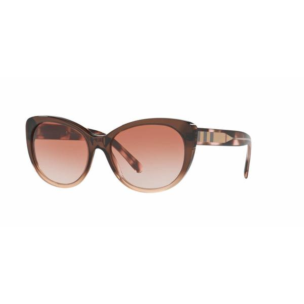 224fc61f530f Shop Burberry Women BE4224 359713 Brown Plastic Cat Eye Sunglasses - Free  Shipping Today - Overstock - 13318837