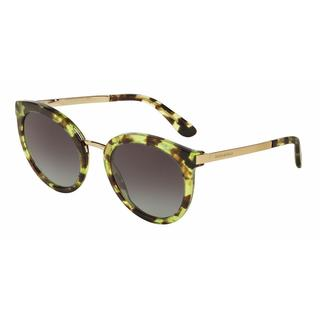 Dolce&Gabbana Women DG4268 29708G Green Metal Round Sunglasses