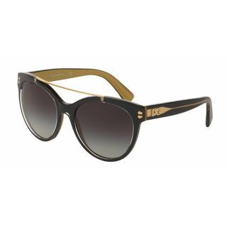 Dolce&Gabbana Women DG4280 29558G Plastic Plastic Round Sunglasses