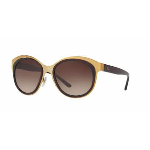 Ralph Lauren Women RL7051 931113 Black Plastic Irregular Sunglasses