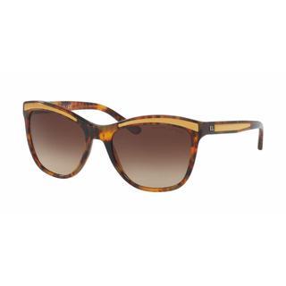 Ralph Lauren Women RL8150 501713 Havana Plastic Square Sunglasses