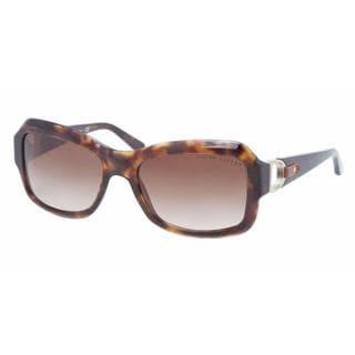 Ralph Lauren Women RL8107Q 500313 Plastic Plastic Rectangle Sunglasses