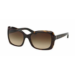 Ralph Lauren Women RL8134 500313 Havana Plastic Square Sunglasses
