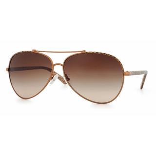 Tory Burch Women TY6021Q 399/13 Brown Cateye Sunglasses