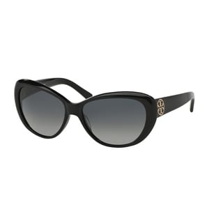 Tory Burch Women TY7005 TORY C03 501/11 Black Plastic Cat Eye Sunglasses