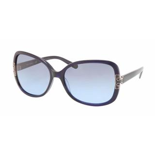 Tory Burch Women TY7022 511/17 Blue Plastic Square Sunglasses