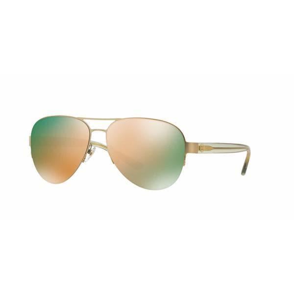 690a6b0e46b7 Shop Tory Burch Women TY6048 3146R5 Gold Plastic Cateye Sunglasses - Free  Shipping Today - Overstock - 13319208