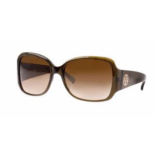 Tory Burch Women TY7004 TORY C04 519/12 Green Plastic Square Sunglasses