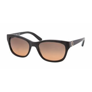 Tory Burch Women TY7044 501/95 Black Plastic Square Sunglasses