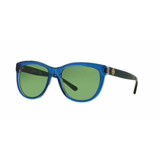 Tory Burch Women TY7091 15482 Blue Plastic Square Sunglasses