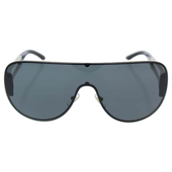 e1b6c81eac092 Shop Versace Women VE2166 125287 Grey Metal Cateye Sunglasses - Free ...