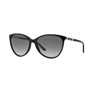 Versace Women VE4260 GB1/11 Black Metal Cateye Sunglasses