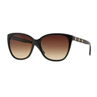 Versace Women VE4281 GB1/13 Black Plastic Square Sunglasses