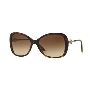 Versace Women VE4303A 108/13 Brown Metal Rectangle Sunglasses