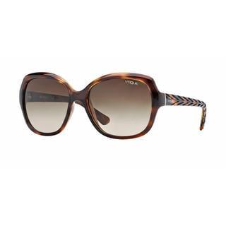 Vogue Women VO2871S 150813 Havana Plastic Square Sunglasses