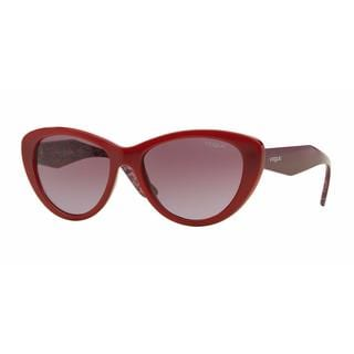 Vogue Women VO2990S 23408H Red Plastic Cat Eye Sunglasses