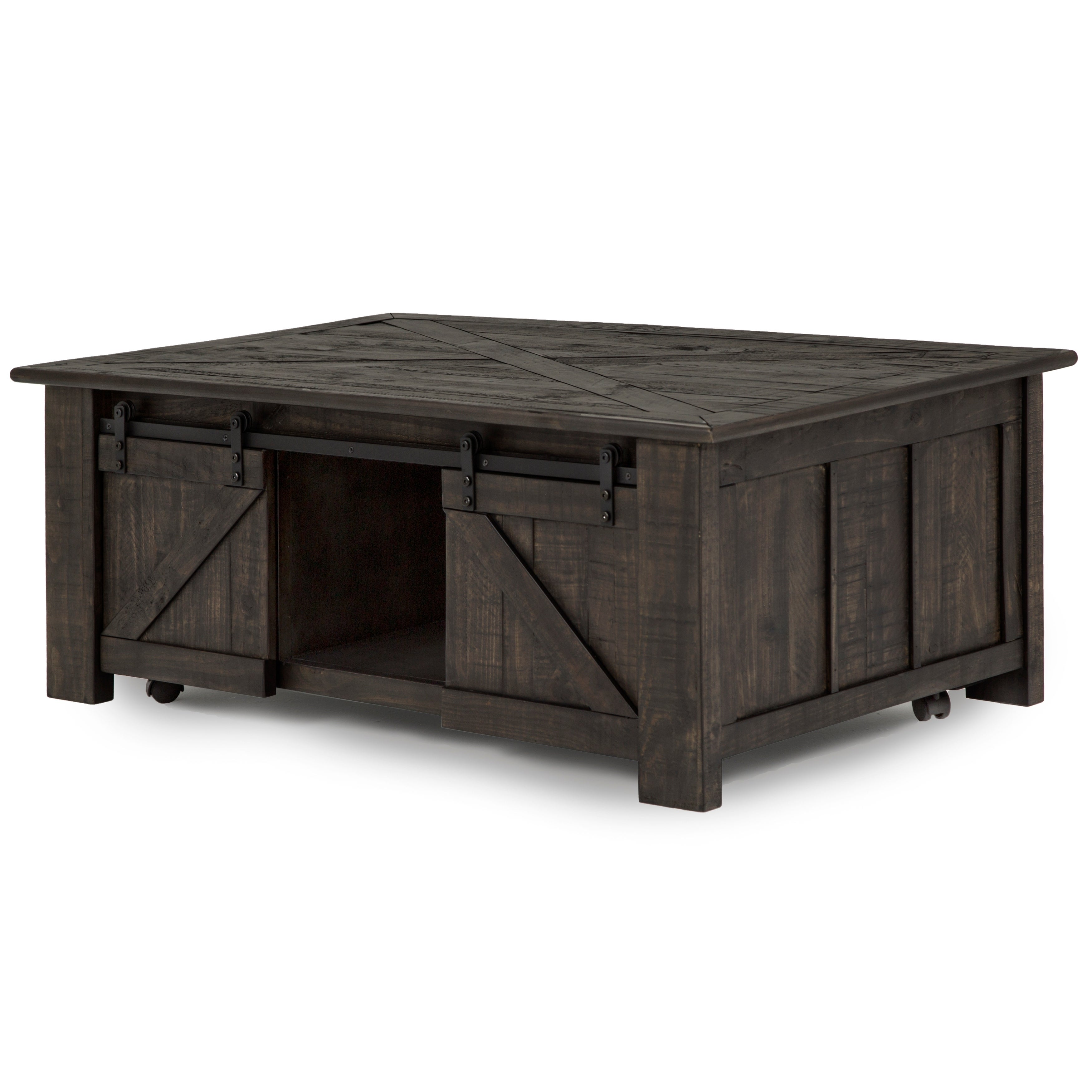 Lift Top Coffee Table Rustic 5