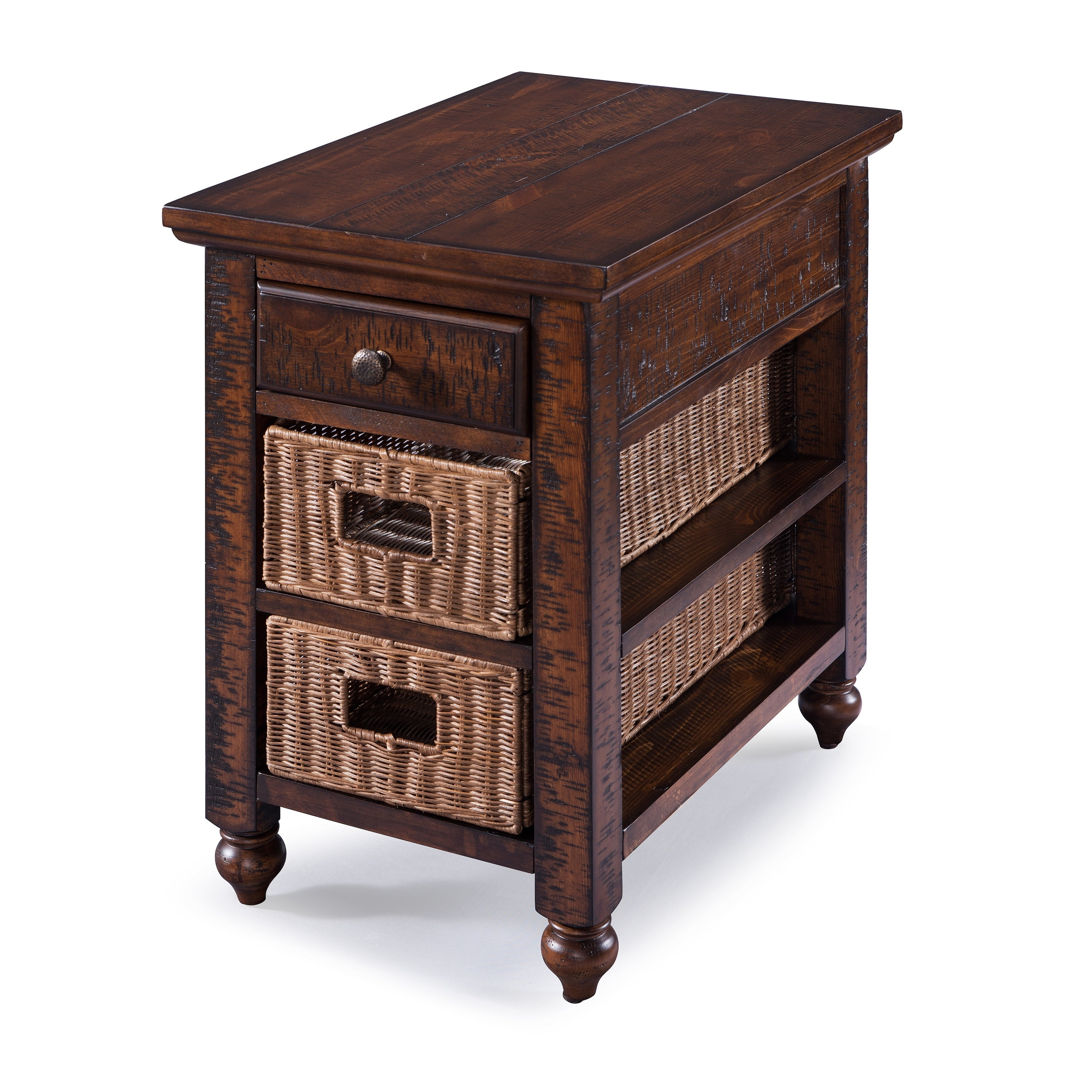 Magnussen Home Cottage Lane Country Coffee Storage Chairs...