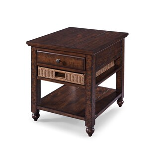 Cottage Lane Country Coffee Storage End Table