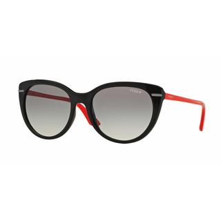 Vogue Women VO2941S 239211 Black Plastic Cat Eye Sunglasses