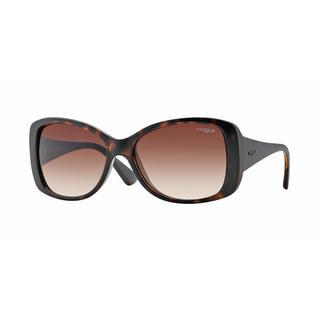 Vogue Women VO2843S W65613 Havana Plastic Square Sunglasses