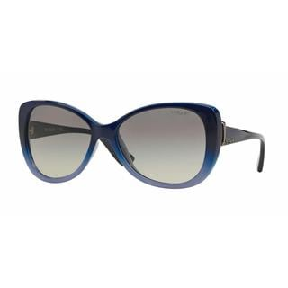 Vogue Women VO2819S 234611 Blue Plastic Rectangle Sunglasses