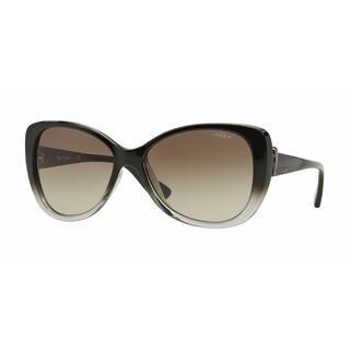 Vogue Women VO2819S 18808E Black Plastic Rectangle Sunglasses