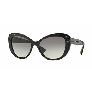 Versace Women VE4309B GB1/11 Black Plastic Cat Eye Sunglasses