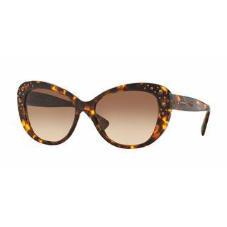 Versace Women VE4309B 514813 Brown Plastic Cat Eye Sunglasses