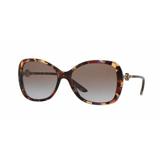 Versace Women VE4303 516168 Brown Metal Rectangle Sunglasses
